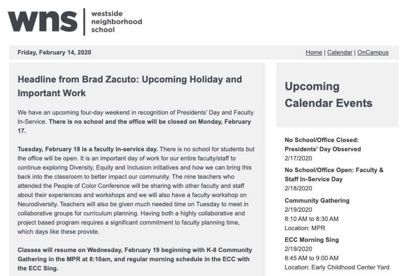 E-News 2/14/20